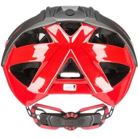 UVEX Quatro Helmet grey/red